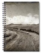 A Rural Path In Auvergne. France Spiral Notebook