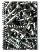 A Screwy Photograph Spiral Notebook