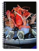 A Seafood Orgy Spiral Notebook