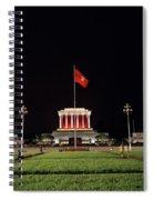 A Serene Ho Chi Minh Mausoleum Spiral Notebook
