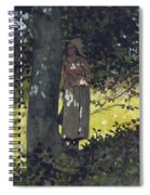 A Shady Spot Spiral Notebook