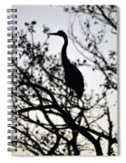A Simple Silhouette Spiral Notebook
