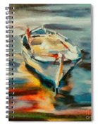 A Single Boat Spiral Notebook