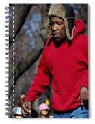 A Skater In Central Park - 2 Spiral Notebook