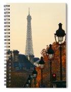 A Slice Of Paris Spiral Notebook