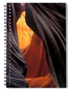 A Slot Canyon View Spiral Notebook