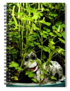 A Smile In A Clover Forest Spiral Notebook