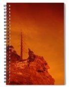 A Snag On A Cliff Spiral Notebook