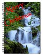 A Snowless Christmas Spiral Notebook
