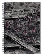 A Soft Entanglement Spiral Notebook