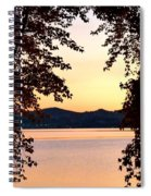 A Soothing Sunset Spiral Notebook