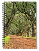A Southern Lane Spiral Notebook