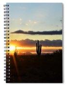 A Southwest Morning  Spiral Notebook