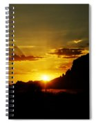 A Southwest Sunrise  Spiral Notebook