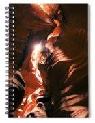 A Splash Of Light Spiral Notebook