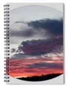 A Splendid Moment-oval Spiral Notebook