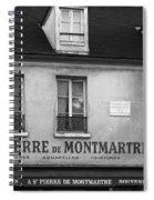 A St Pierre De Montmartre In Paris Spiral Notebook
