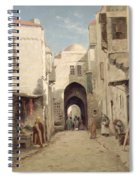 A Street In Jerusalem Spiral Notebook