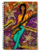 A Student Of The Jam Spiral Notebook