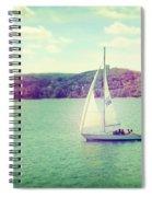 A Summer Sailing Adventure Spiral Notebook