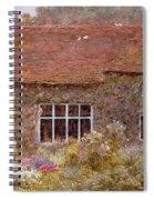 A Surrey Cottage Spiral Notebook