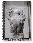 Tattooed Man Spiral Notebook