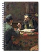 A Theological Debate Spiral Notebook