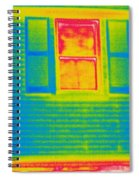 A Thermogram Of A Window Spiral Notebook
