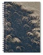 A Thousand Suns - Ring Of Fire Eclipse 2012 II Spiral Notebook