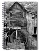 A Touch Of Yellow Spiral Notebook