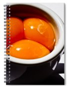 A Triple Eggspresso Spiral Notebook