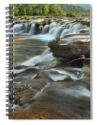 A View Across The New River Spiral Notebook