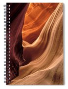 A View In A Slot Canyon Spiral Notebook
