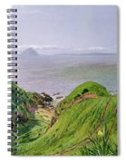 A View Of Ailsa Craig And The Isle Of Arran Spiral Notebook