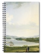 A View Of Knock Ninney And Part Of Lough Erne From Bellisle - County Fermanagh  Spiral Notebook