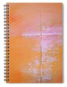 A View Of The Line Spiral Notebook