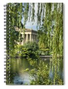 A View Of The Parthenon 10 Spiral Notebook