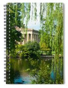 A View Of The Parthenon 12 Spiral Notebook