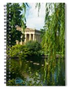 A View Of The Parthenon 15 Spiral Notebook