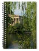 A View Of The Parthenon 3 Spiral Notebook