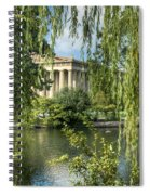 A View Of The Parthenon 5 Spiral Notebook