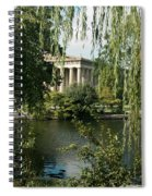 A View Of The Parthenon 6 Spiral Notebook