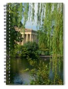 A View Of The Parthenon 8 Spiral Notebook