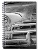 A Vintage Junk Plymouth Auto Spiral Notebook