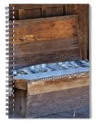 A Weathered Bench Spiral Notebook