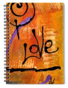 A Whirlwind Called Love Spiral Notebook