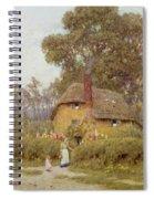 A Wiltshire Garden Spiral Notebook