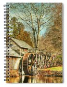 A Winters Day  Spiral Notebook