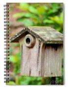 A Winter's Getaway For Birds Spiral Notebook