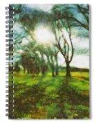 A Winter's Walk Spiral Notebook